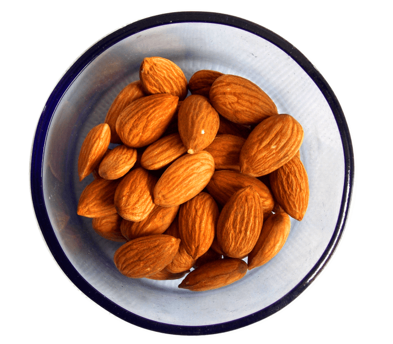 Almonds: Foods that help to ease anxiety