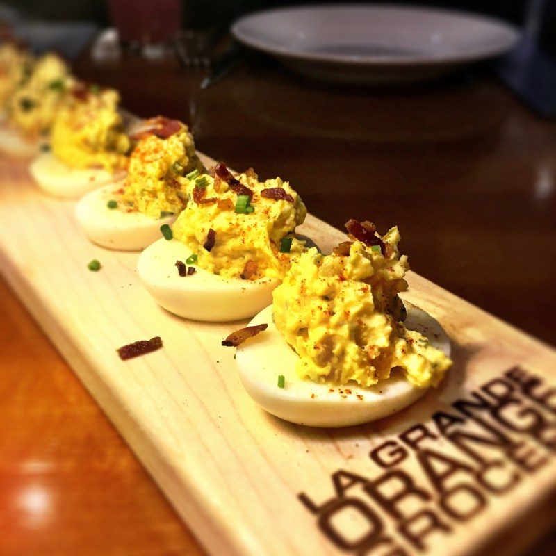 Phoenix Sky Harbor Dining | Chelsea's Kitchen Deviled Eggs