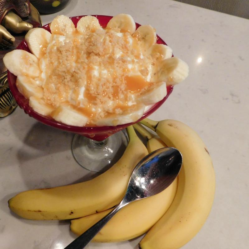 Rhythm & Wine's Girl Scout Banana Cream Pie