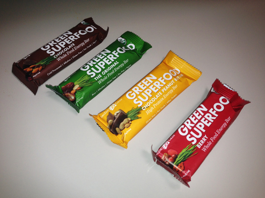 Green Superfood Whole Food Energy Bars
