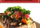 Chef Adrianne's Roasted Tomato + Crispy Cilantro Pico de Gallo