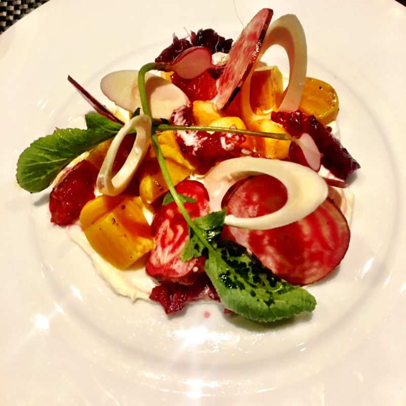 The Lincoln Restaurant Beet Salad