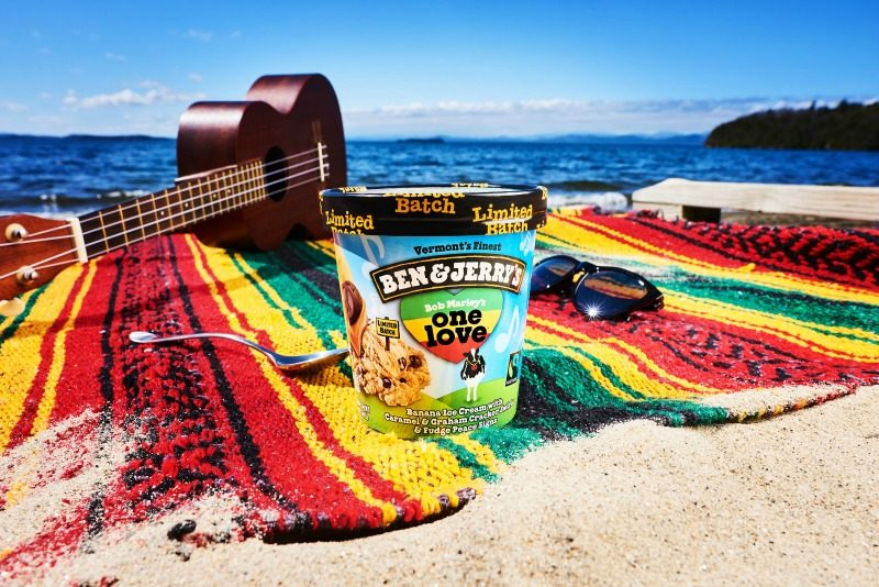 Ben & Jerry's Celebrates Bob Marley's Legacy with One Love Flavor