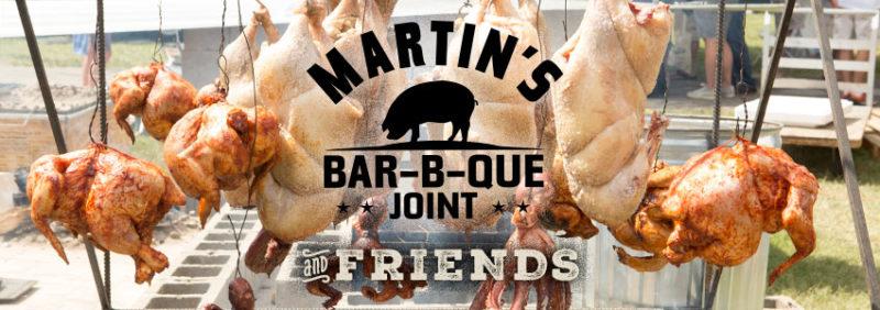 Martins Bar b que joint