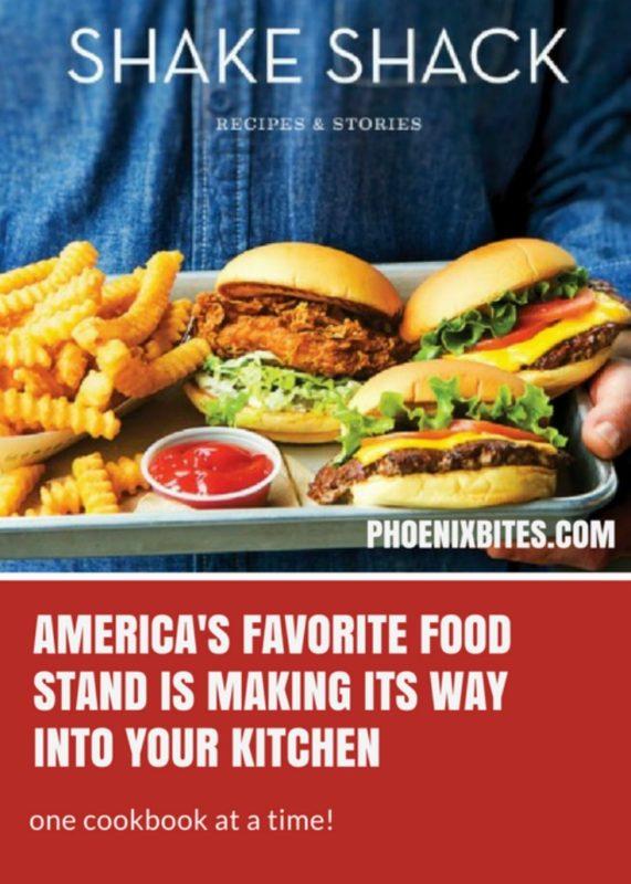 Shake Shack: Cookbook to hit shelves soon