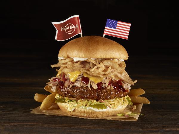 WBT Memphis Tennessee BBQ Burger