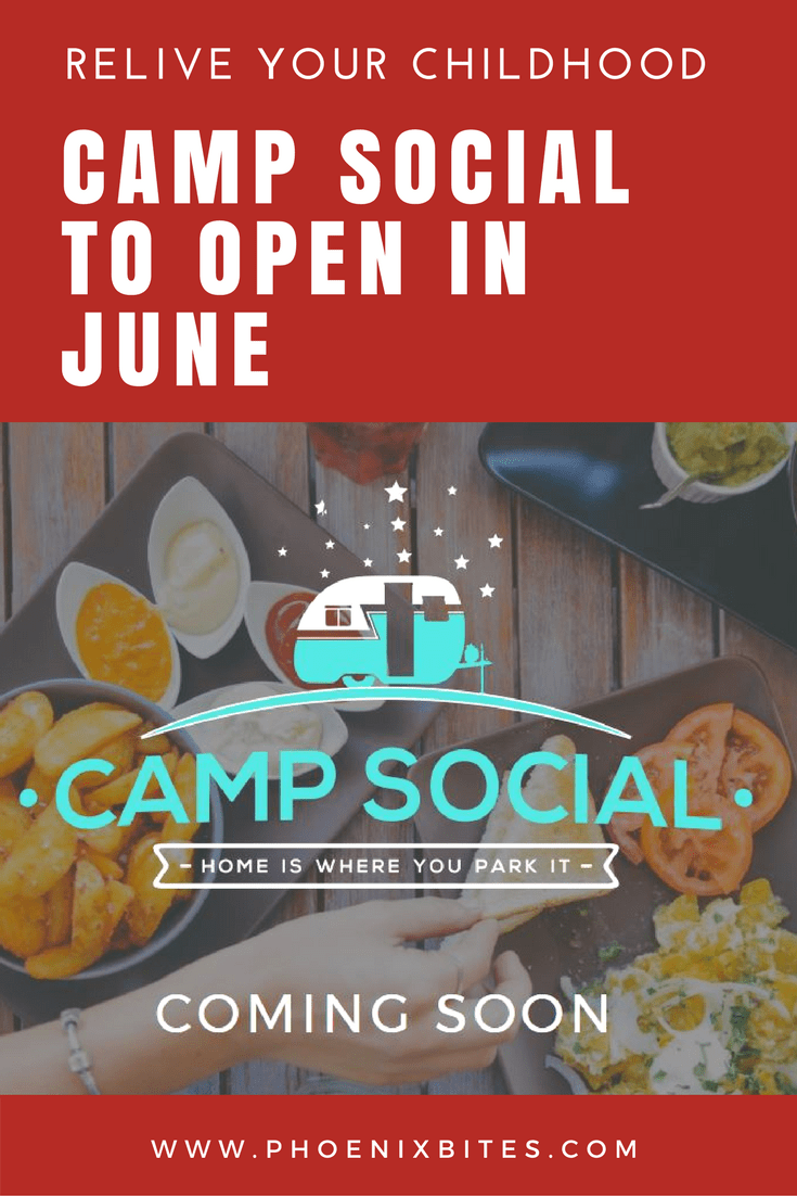 camp social to open in june