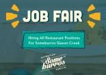 Someburros Hosting Job Fair for Queen Creek Location