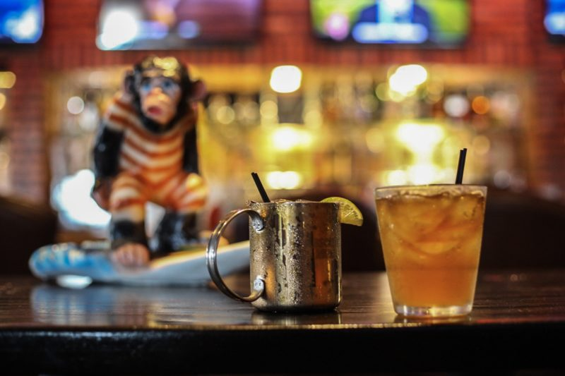 Ginger Monkey Monsoon Themed Cocktails