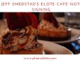 Chef Jeff Smedstad's Cookbook Signing