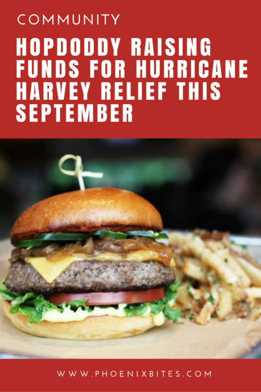 HOPDODDY RAISING FUNDS FOR HURRICANE HARVEY RELIEF THIS SEPTEMBER