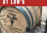 Del Bac Whiskey Dinner at LON's