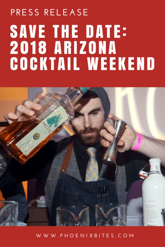 Save the Date- 2018 Arizona Cocktail Weekend