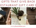2017 Restaurant Gift Card Deals