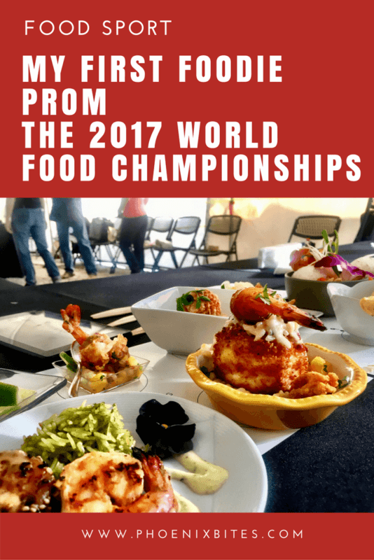 My First Foodie Prom - The 2017 World Food Championships