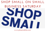 shop small this small business saturday