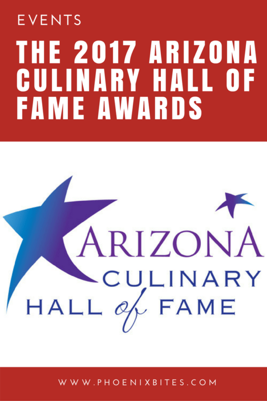 the 2017 arizona culinary hall of fame awards