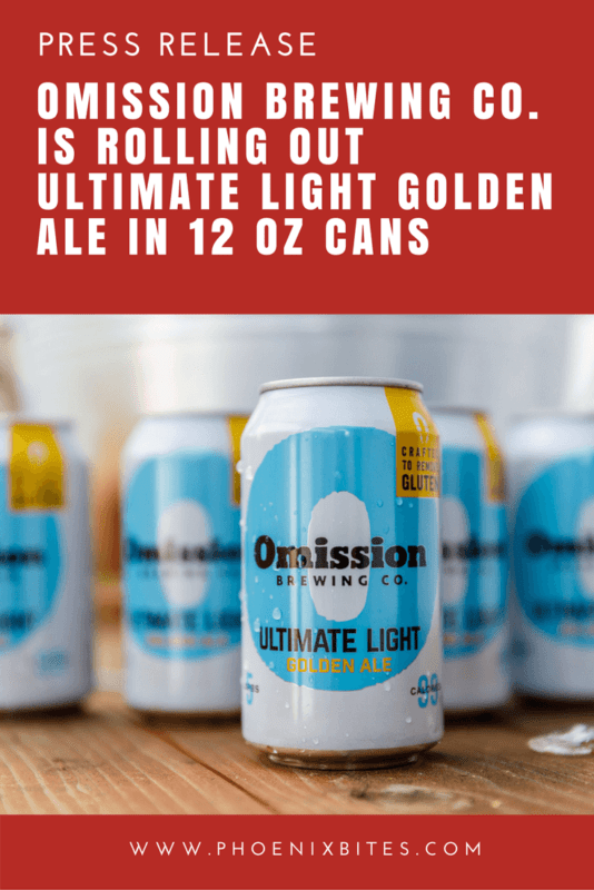 Omission Brewing Co. is Rolling Out Ultimate LIght Golden Ale in 12 OZ Cans