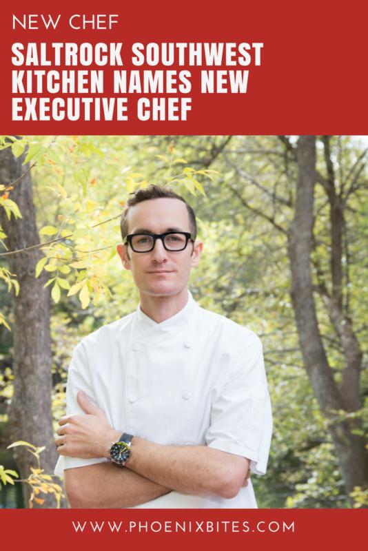 SaltRock Southwest Kitchen Names New Executive Chef