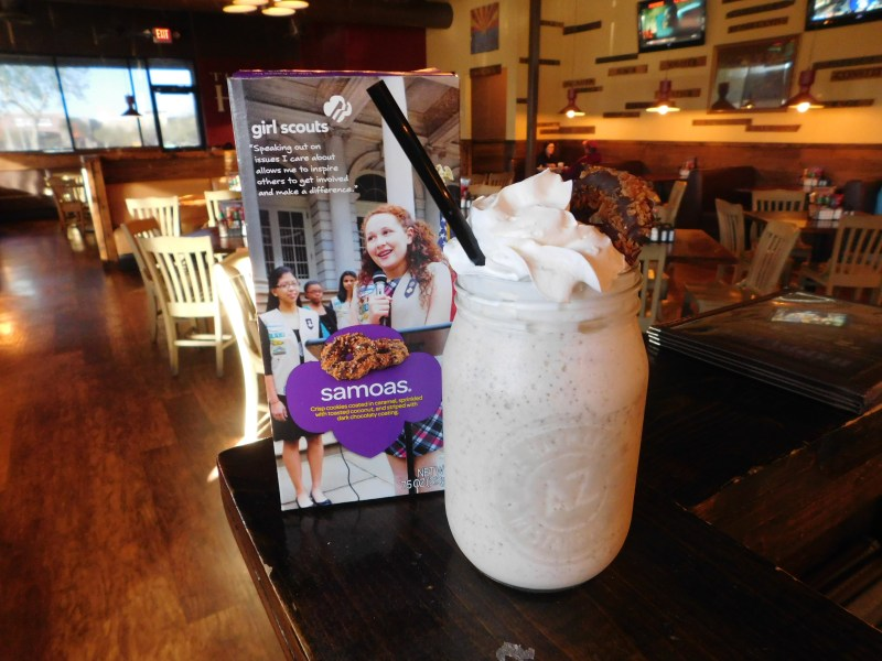 The Haymaker Mommy's Spiked Samoa Milkshake