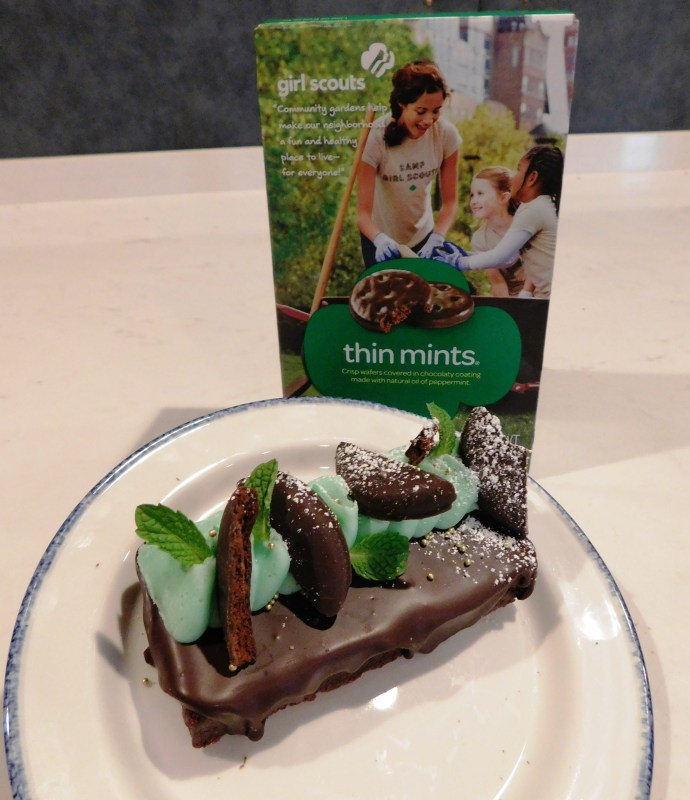 The Henry Chocolate Fudge Brownie with Mint Creme