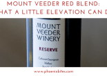 Mount Veeder Red Blend