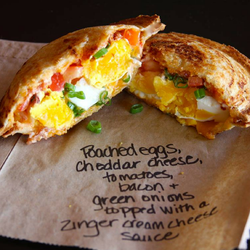 Zookz breakfast sandwich
