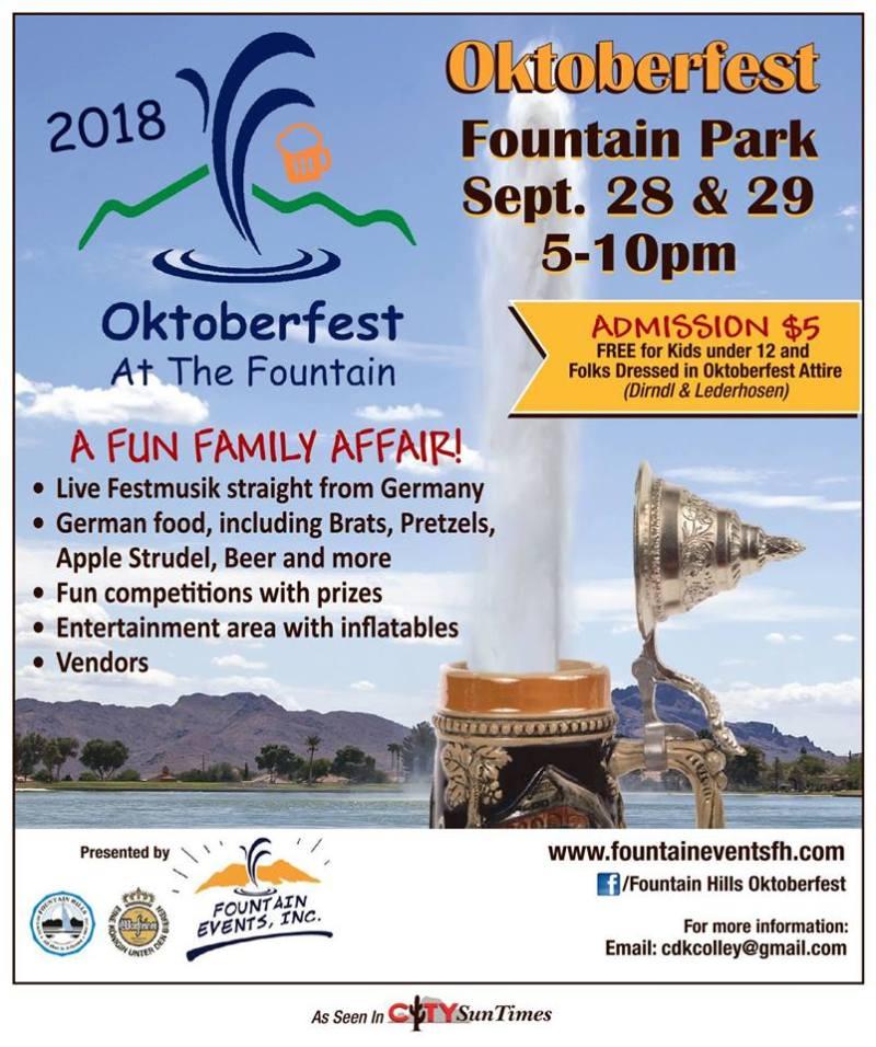 Oktoberfest at the Fountain