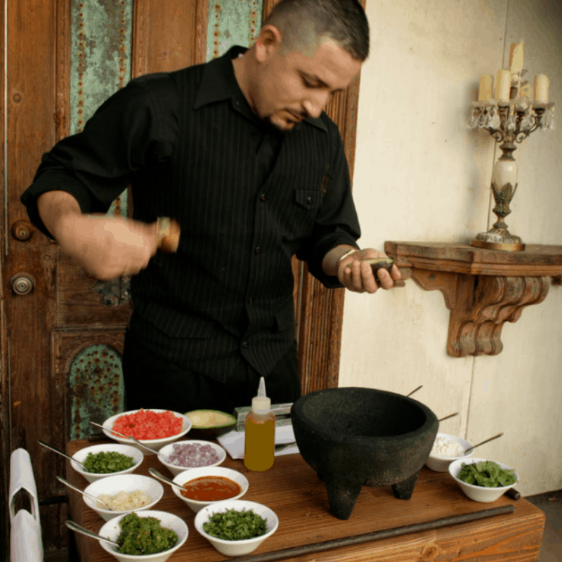 110518 The Mission Tableside Guacamole