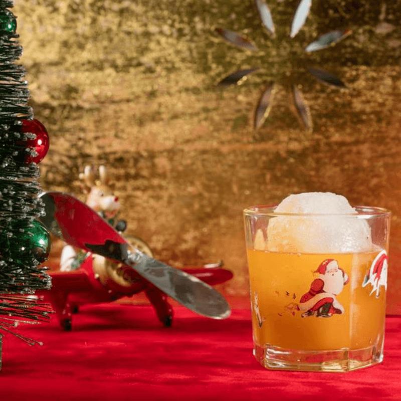 Blue Hound Kitchen & Cocktails Snowball Old Fashioned