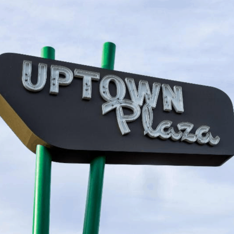 Uptown Plaza holiday celebration