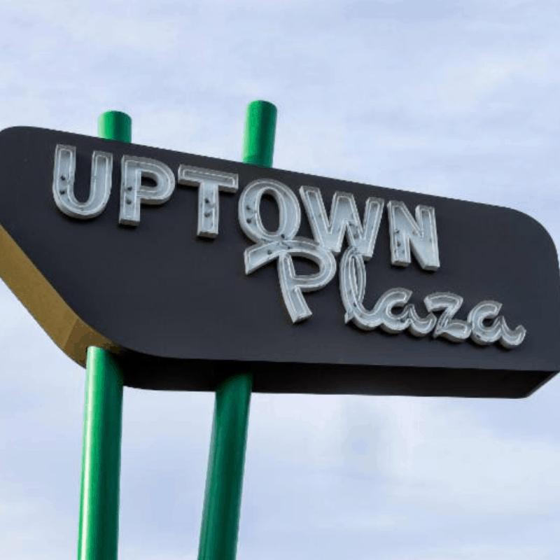 Uptown Plaza holiday celebration