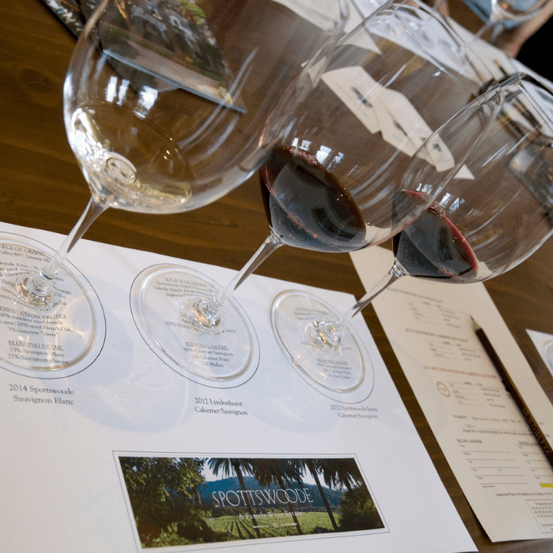 Wine | Spottswoode: A St. Helena in-town winery
