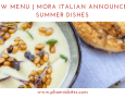 051519 New Menu Mora Italian Announces Summer Dishes