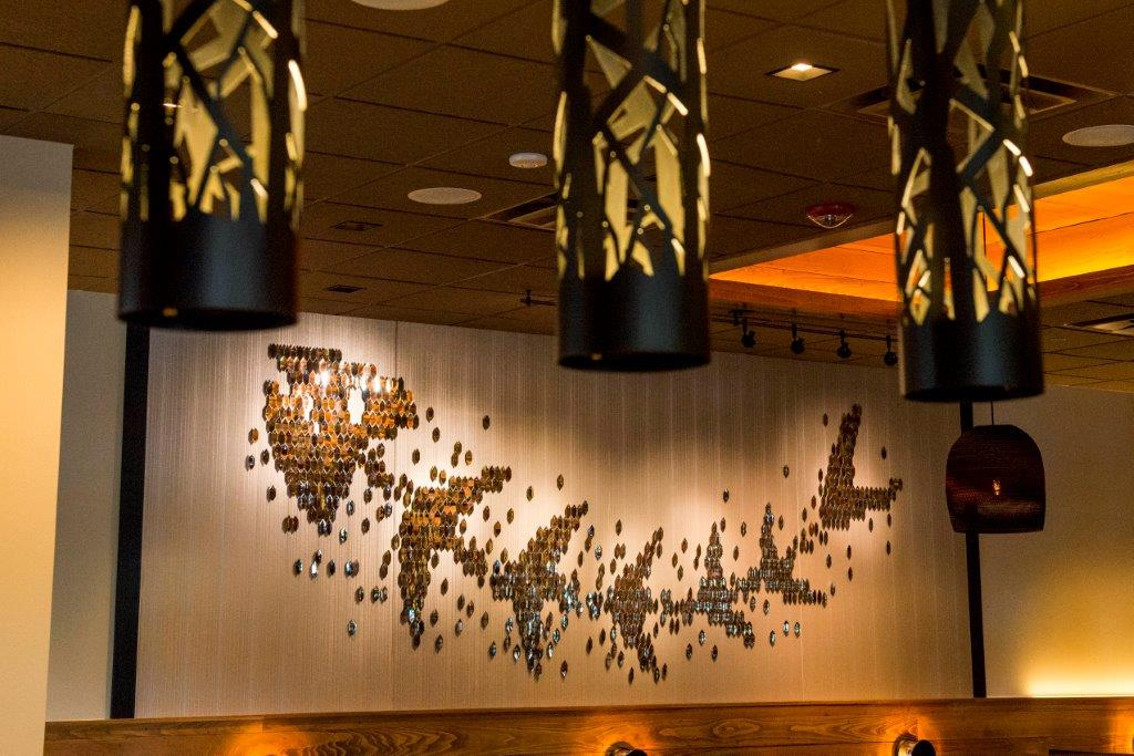 Bonefish Grill Plaque Interior