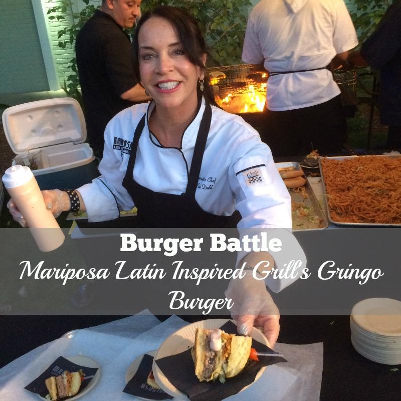 2016 Burger Battle Mariposa Latin Inspired Grill Gringo Burger