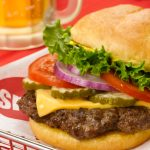 Classic Smashburger with Beer
