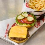 Classic Smashburger with Smash Fries