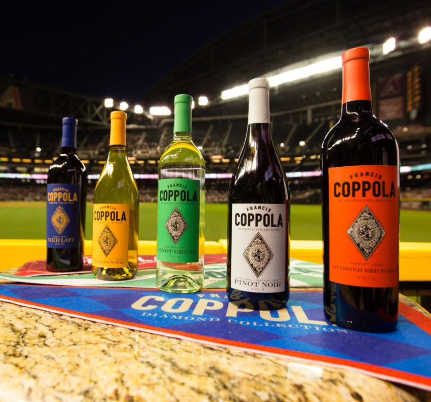 Coppola Wines goes on a baseball tour