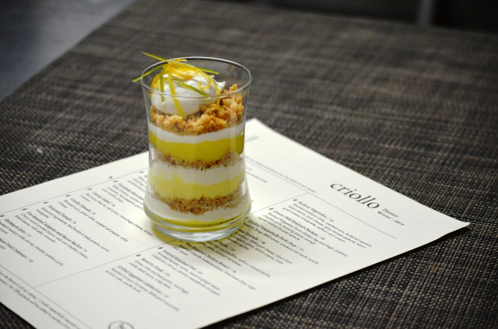 Criollo Citrus Trefoil Trifle