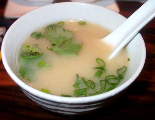 Stingray Sushi Miso Soup