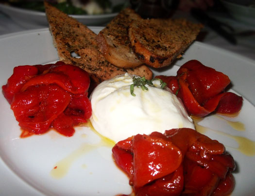 New Restaurant Open at Scottsdale Quarter: Dominick's Steakhouse: Burrata