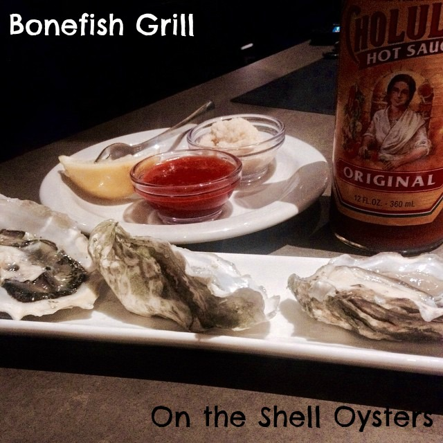 Bonefish Grill On the Shell Oysters