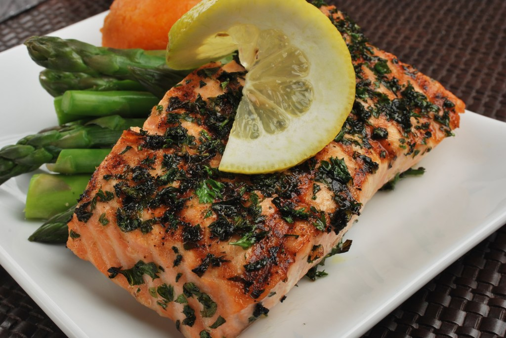 SunFare Paleo Herb Grilled Salmon