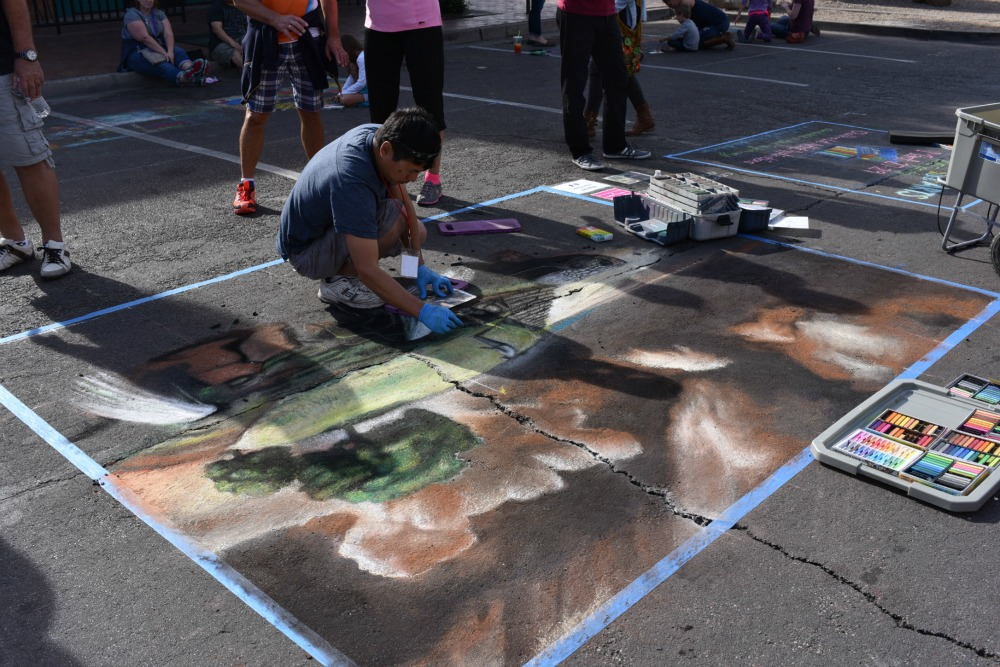Tempe Festival of the Arts Chalks-a-Lot Competition