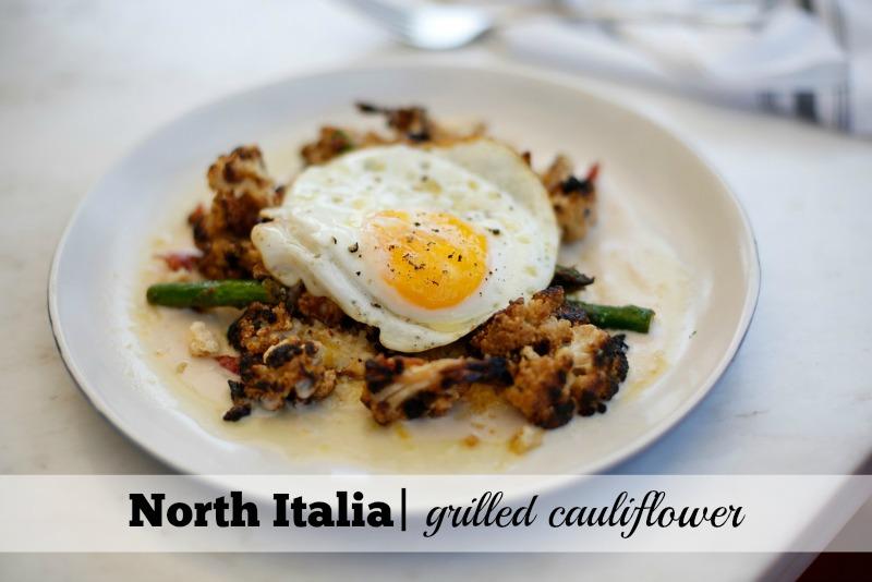Best Cauliflower Dishes in Phoenix: North Italia Grilled Cauliflower