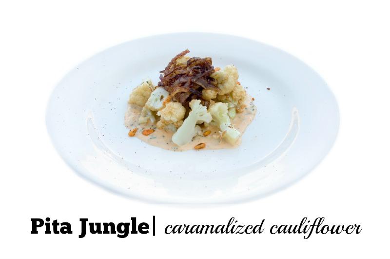 Best Cauliflower Dishes in Phoenix: Pita Jungle Caramelized Cauliflower