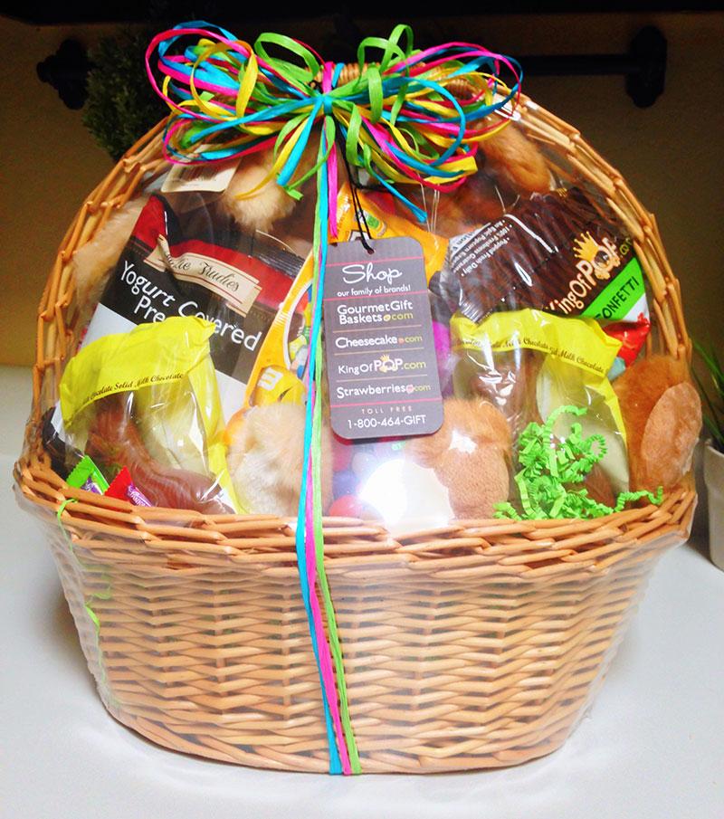 Double Bunny Easter Basket