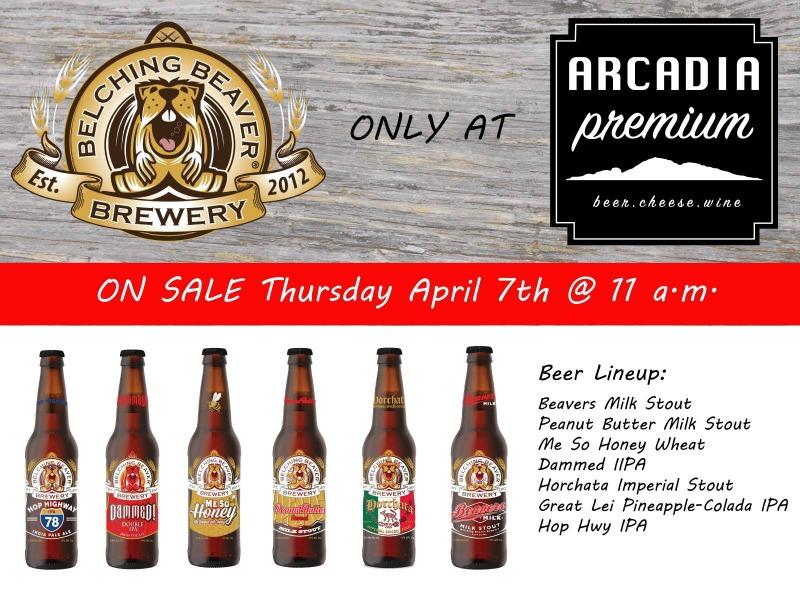 Belching Beaver at Arcadia Premium