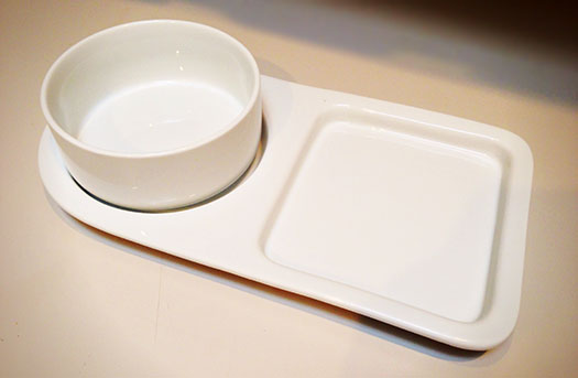 Soup and Sandwich Ceramic Trays